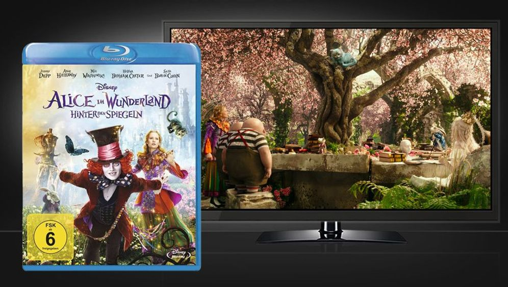 Alice im Wunderland: Hinter den Spiegeln (Blu-ray Disc) - Bildquelle: Foo