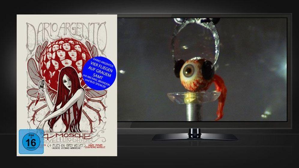 Vier Fliegen auf grauem Samt (Blu-ray+DVD Mediabook) - Bildquelle: Foo