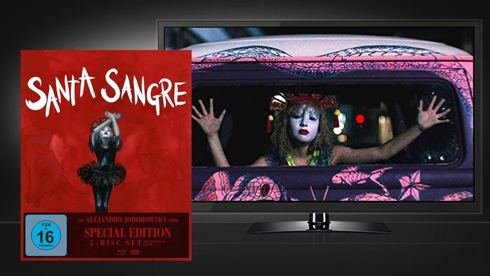 Santa Sangre (Blu-ray + DVD Box Set) - Bildquelle: Foo