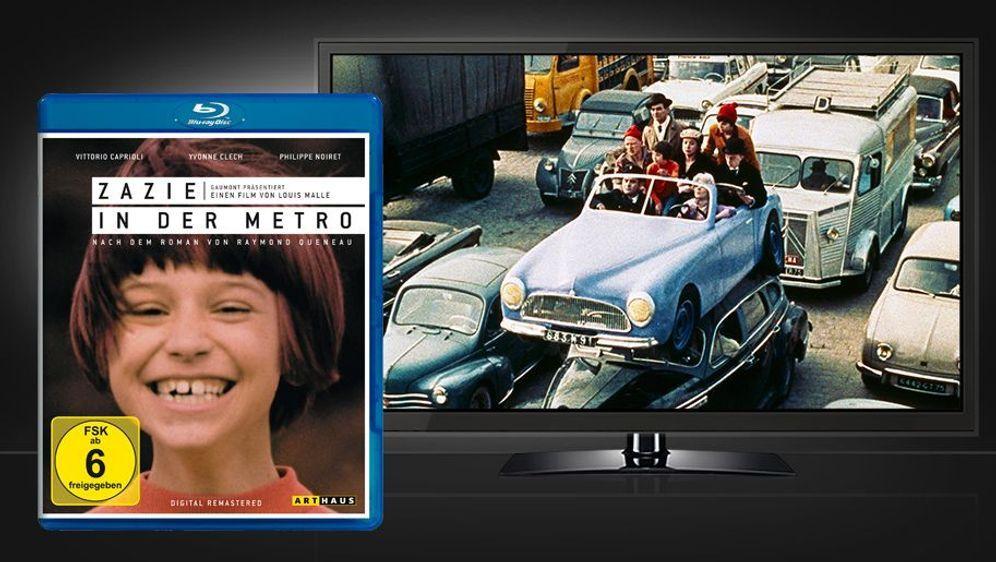 Zazie in der Metro (Blu-ray) - Bildquelle: Foo