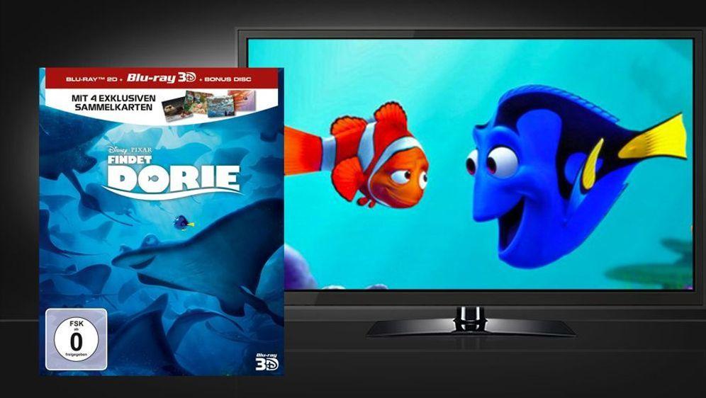 Findet Dorie (3D Blu-ray Limited Edition) - Bildquelle: Foo